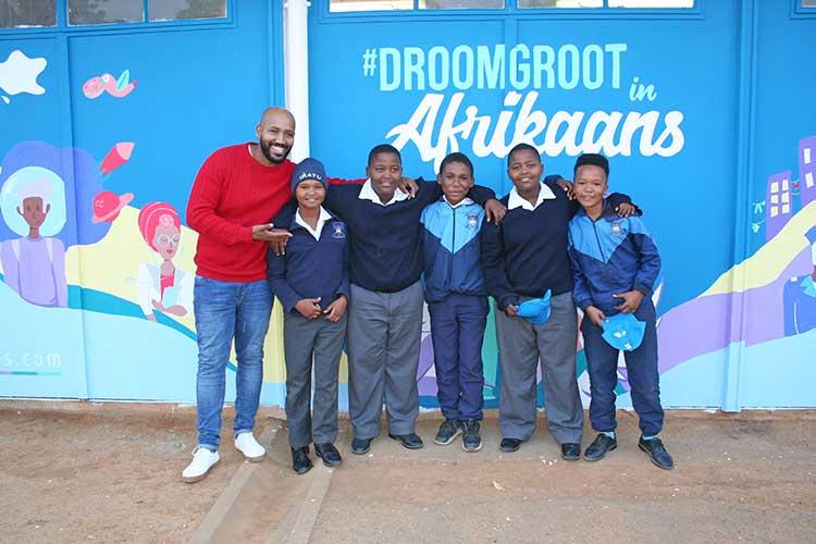 Laerskool Dagbreek Muurprojek