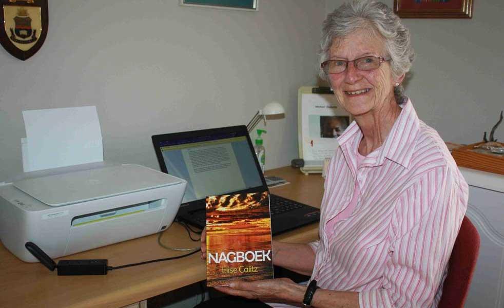 78-jarige Elise Calitz se tweede boek verskyn