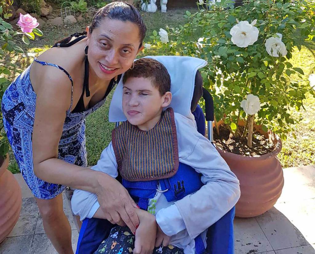 Marlene le Roux 'n Lewe na polio