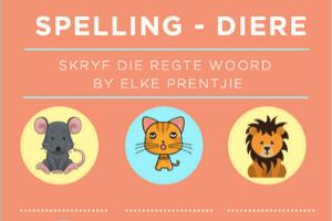 Spelling - Diere