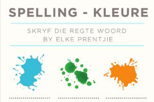 Spelling - Kleure