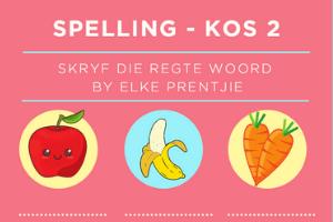 Spelling - Kos 2