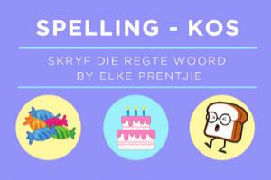 Spelling - Kos